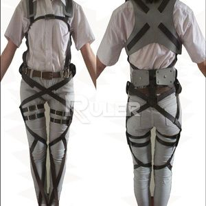 Other - Attack on Titan Cosplay Belts Harness 3DMG Gear