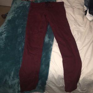 Red Flying Monkey Skinny Jeans