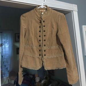 Andrew & Co Jackets & Blazers - Women's corduroy tan jacket