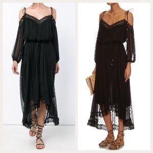Zimmermann Dresses & Skirts - New AUTH Zimmermann Realm Scallop Silk Dress White