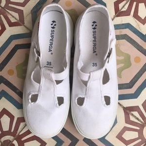 Superga Shoes - SUPERGA MARY JANE TENNIS SHOE SNEAKER SIZE 5