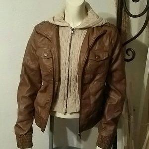 ci sono  Jackets & Blazers - Ci sono faux leather jacket