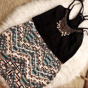 Dresses & Skirts - ⚡️FLASH SALE⚡️  Geometric Bodycon Skirt