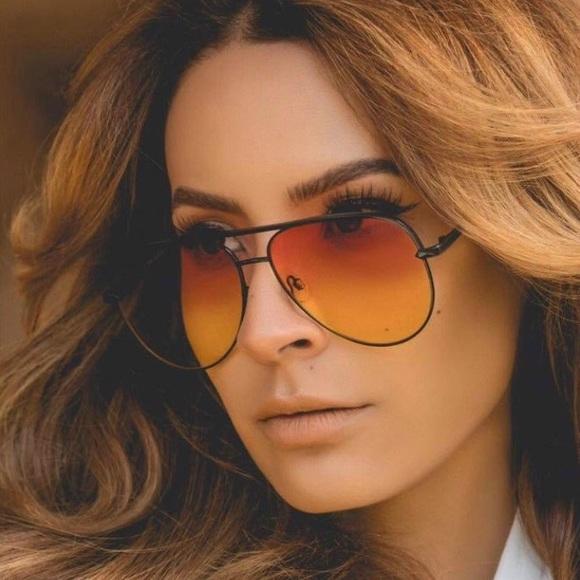 b68d7fb3d0 Quay x Desi Perkins High Key Sahara sunglasses. M 5939fd33c6c795f32d009a40