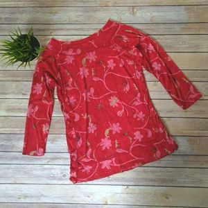 The Limited red sheer top