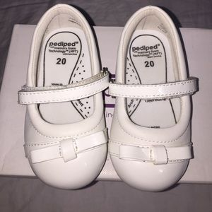 pediped Other - PEDIPED PENNY WHITE, KIDS SHOES!!