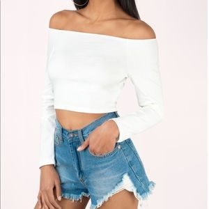 'Barely There Off Shoulder Top'