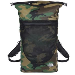 NWT Supreme SS17 North Face Woodland Camo Backpack Supreme
