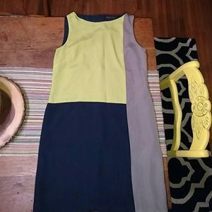 Color Block Sheath dress from The Limited