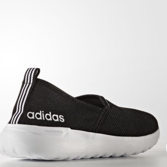 NWT ADIDAS NEO CLOUDFOAM LITE RACER SLIP-ON SHOES 26051c2a2