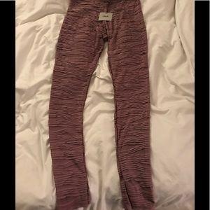 95b3ec89f174b ASOS Pants | Premium Pleated Legging In Rosewood | Poshmark