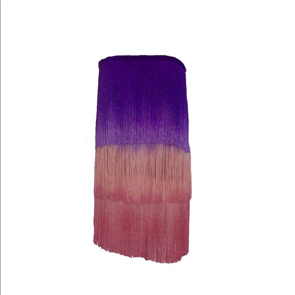 Calypso St. Barth Dresses & Skirts - ⬇️REDUCED⬇️Size 1 Calypso Ombré Fringe Dress
