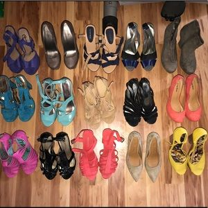 Shoes - Women Size 8 Heels/Pumps/Wedges!