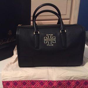 Brand new Tory Burch Britten satchel