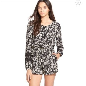 Mimi Chica Pants - Mimi Chica Long Sleeve Romper