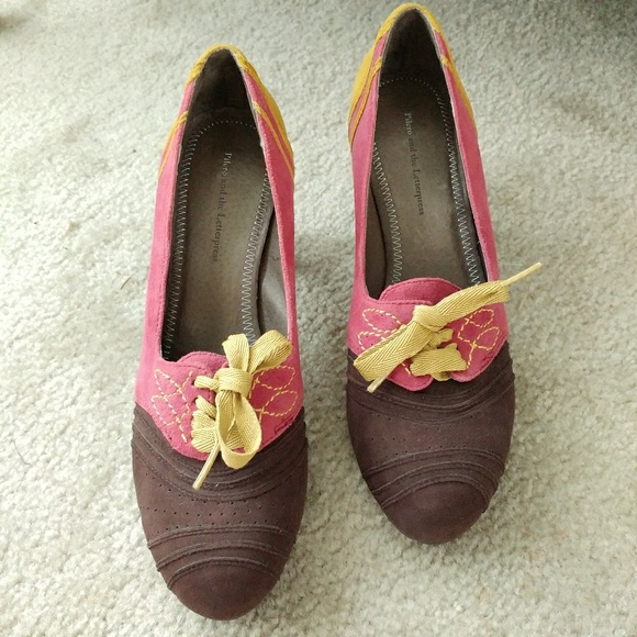 Anthropologie Shoes | Everybody By Bz Moda Leather Shoes