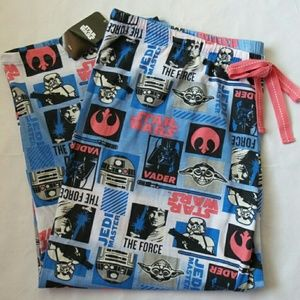 Star Wars Other - 💥 Star Wars cropped pajama pants