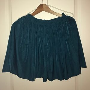 Green skirt by american apparel