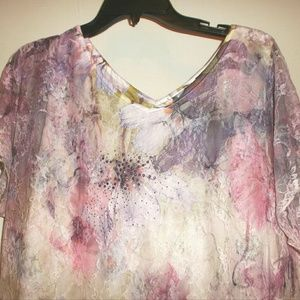 d5ca1e19f41 Brittany Black Tops - Brittany Black Purple & Pink Lace Top 4 for $20