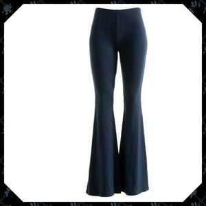 Navy Bell Bottom Pants