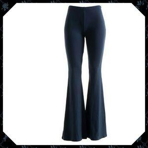 Navy Bell Bottom Pants