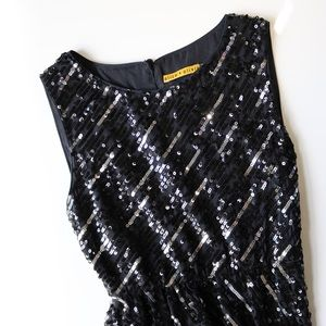 Alice + Olivia Phebe Sequin Dress