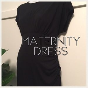 Black maternity dress size small