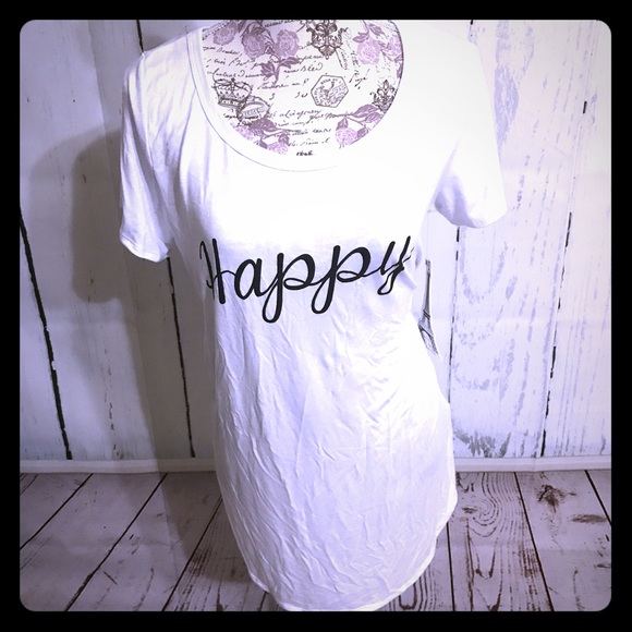 🎈SALE Many Reasons to be Happy Long Tee [TO-41]