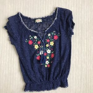 Flying Tomato Tops - Flying Tomato Embroidered Top