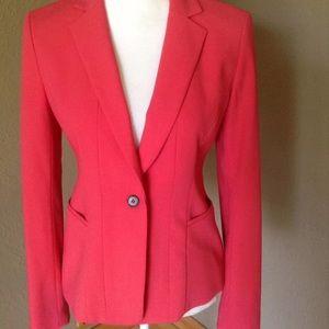 Ann Taylor Jackets & Blazers - Ann Taylor single Button Blazer Lined Poly