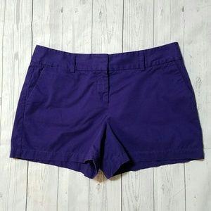 LOFT Pants - Ann Taylor Loft Purple chino shorts