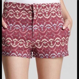 Free People tribal print shorts