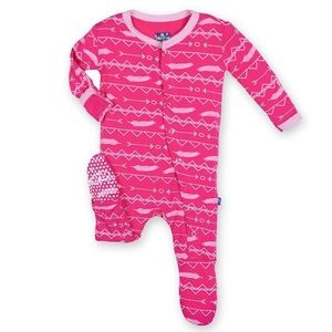 Kickee Pants Other - Kickee Pants Prickly Pear Print PJs