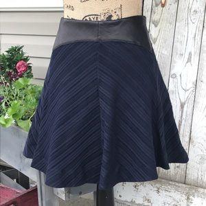rag & bone Dresses & Skirts - NWT rag & bone blue knit leather skirt 8