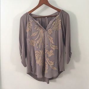 Anthropologie Tops - Anthropologie Tiny Brand Blouse