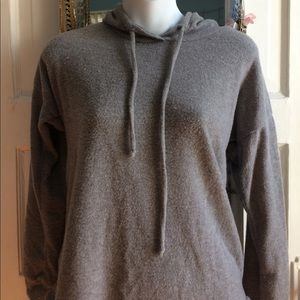Other - Fuzzy gray hoodie