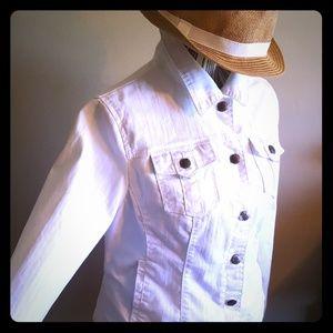 AMI Jackets & Blazers - White Jacket