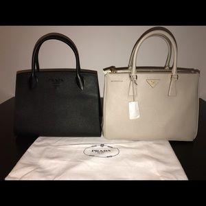 bddc399b19b125 Prada Bags | Winter 2018 Saffiano Black Tote Brand New | Poshmark