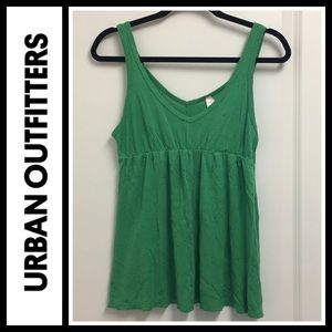 Urban Outfitters Tops - UO sparkle & fade green speckled tank