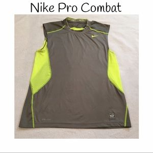 Nike Other - NIKE Pro Combat sleeveless/tank top dry fit!