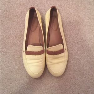 Yellow Rag & Bone Saville braided loafers 7