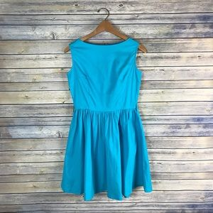 Lindy Bop ModCloth Bright Blue Retro Vintage Dress