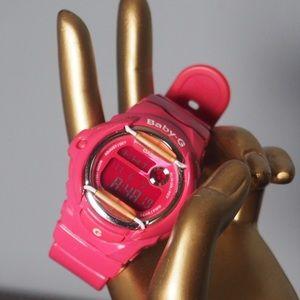 Casio Accessories - Casio Baby G watch in pink