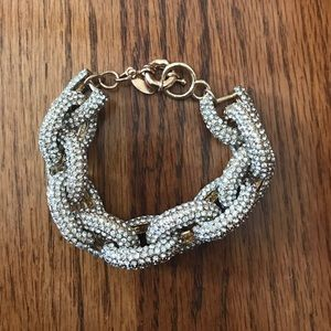Ily Couture Jewelry - ILY Couture Pave Chainlink Bracelet