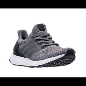 9a72677d4e50 Shoes - Adidas ultraboost 3.0 grey size 5 boys