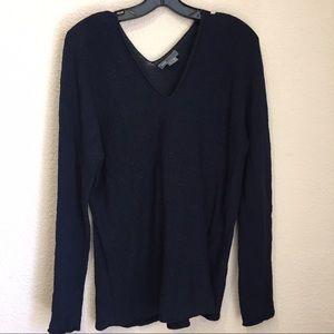 Vince Sweaters - Vince linen double vneck sweater