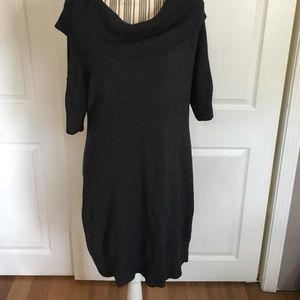 Banana Republic Cowl Neck Sweater Dress