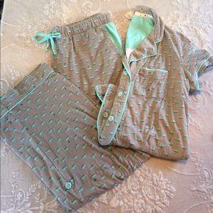 Munki Munki Other - Munki munki Whale Pajama Set L
