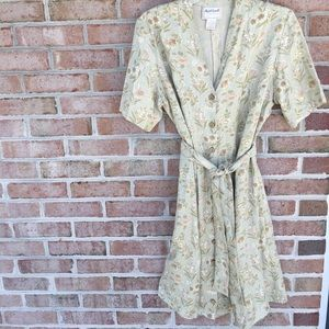 April Cornell Dresses & Skirts - Vintage April Cornell Button down Dress Sz. Medium