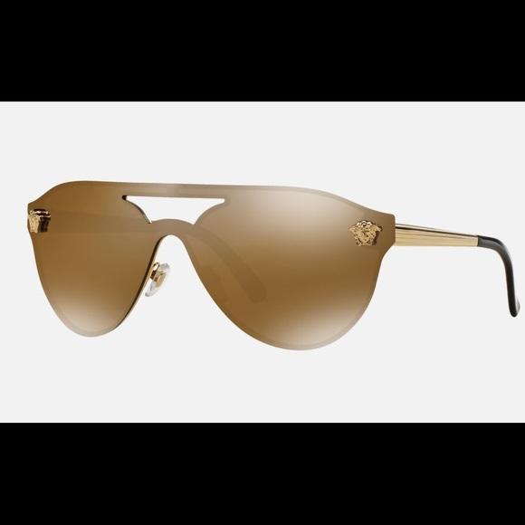 def4697a131 Versace Medusa Shield Sunglasses